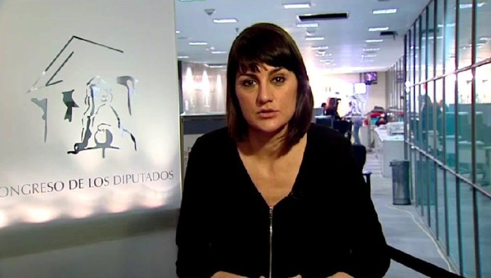 María González, diputada del PSOE
