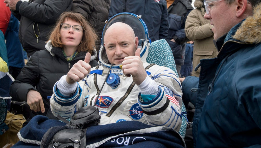El astronauta Scott Kelly