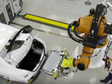 Planta de producción Mercedes Benz