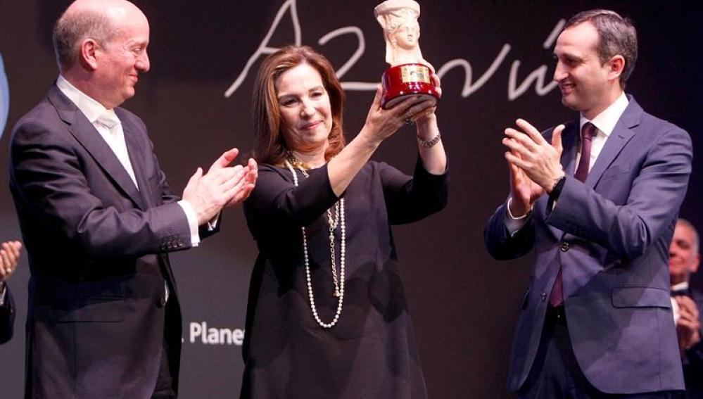 Reyes Calderón gana el premio Azorín