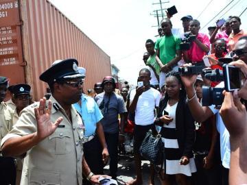 Motín en la cárcel de Guyana