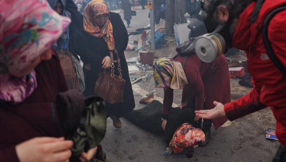 Manifestaciones en Zaman