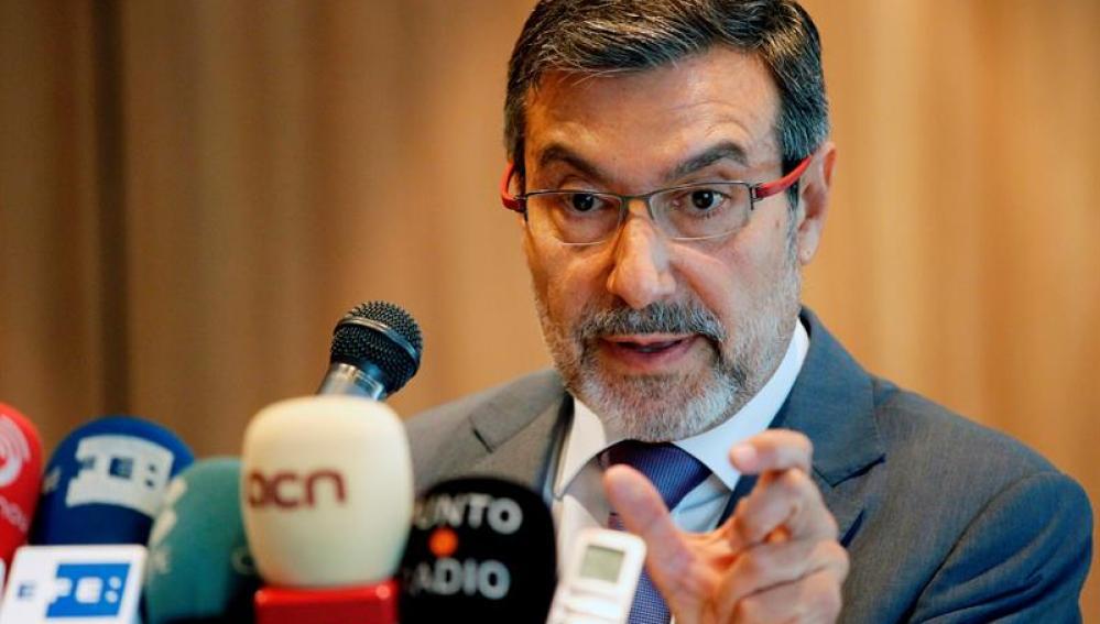 Antonio Asunción, exministro del Interior socialista
