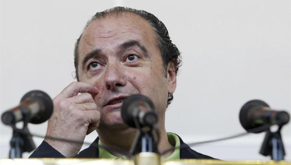 El expresidente de la Diputación de Alicante José Joaquín Ripoll