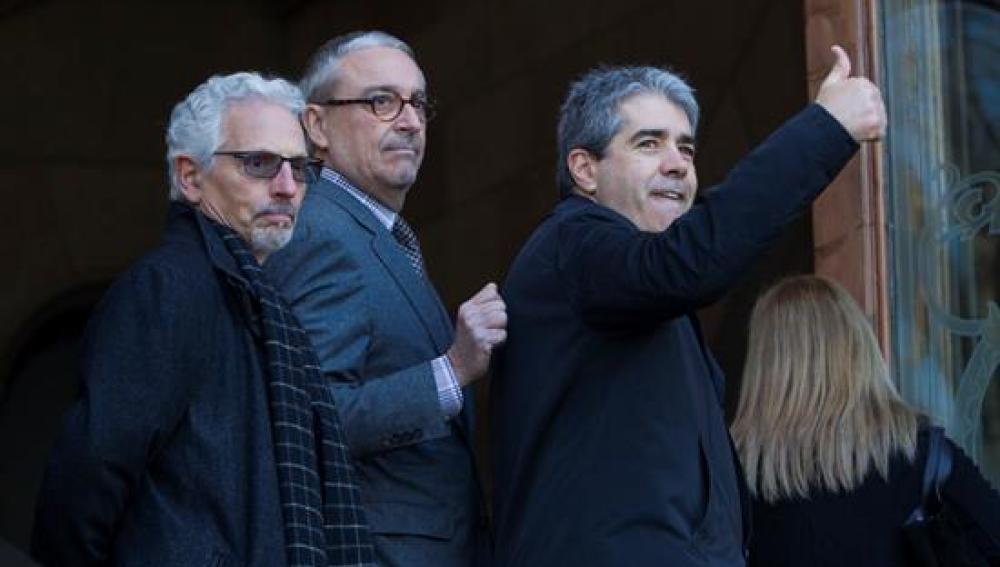 El exconseller de Presidencia y diputado de Democràcia i Llibertat (DiL) Francesc Homs