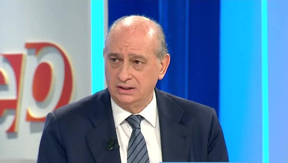 Jorge Fernández Días, ministro de Interior en funciones
