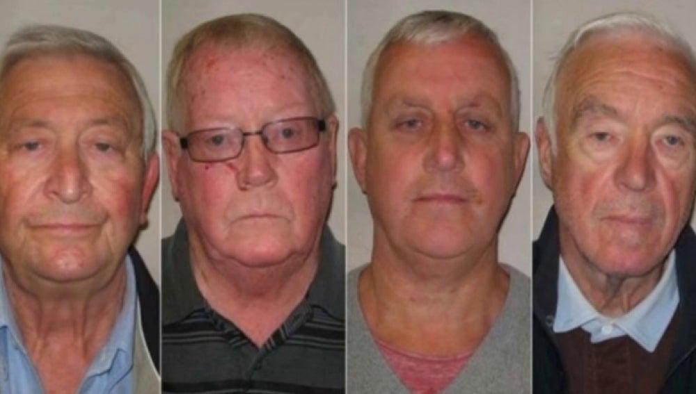 Miembros de la banda de jubilados que han sido juzgados