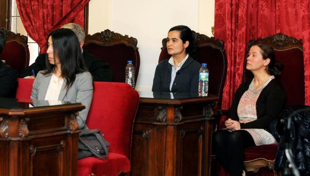 Raquel Gago, Triana Martínez y Montserrat González