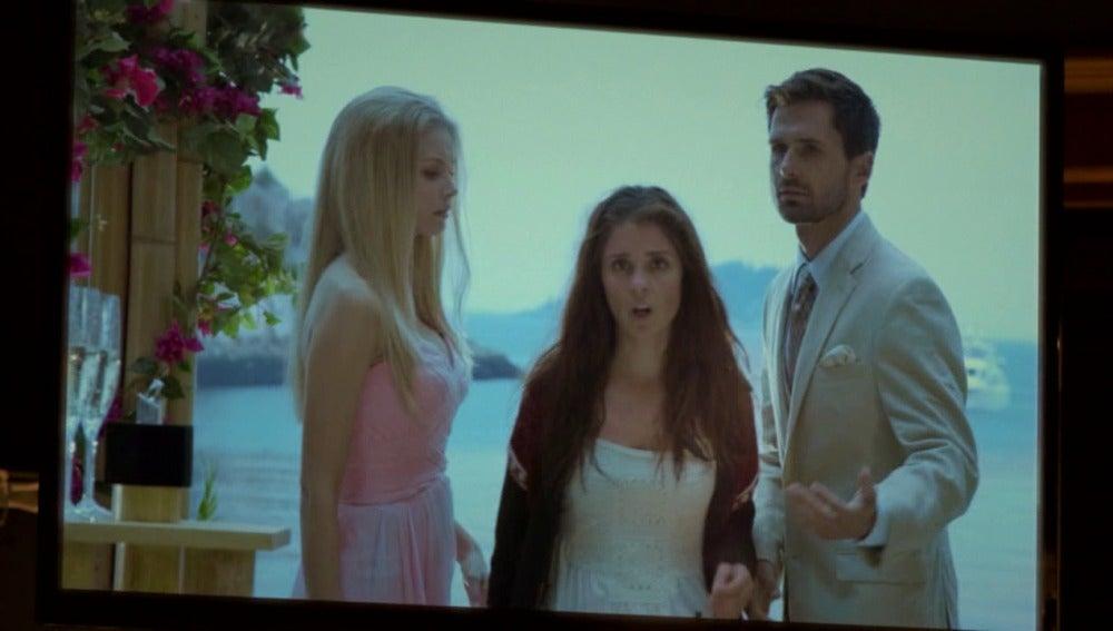 Rachel interrumpe la boda