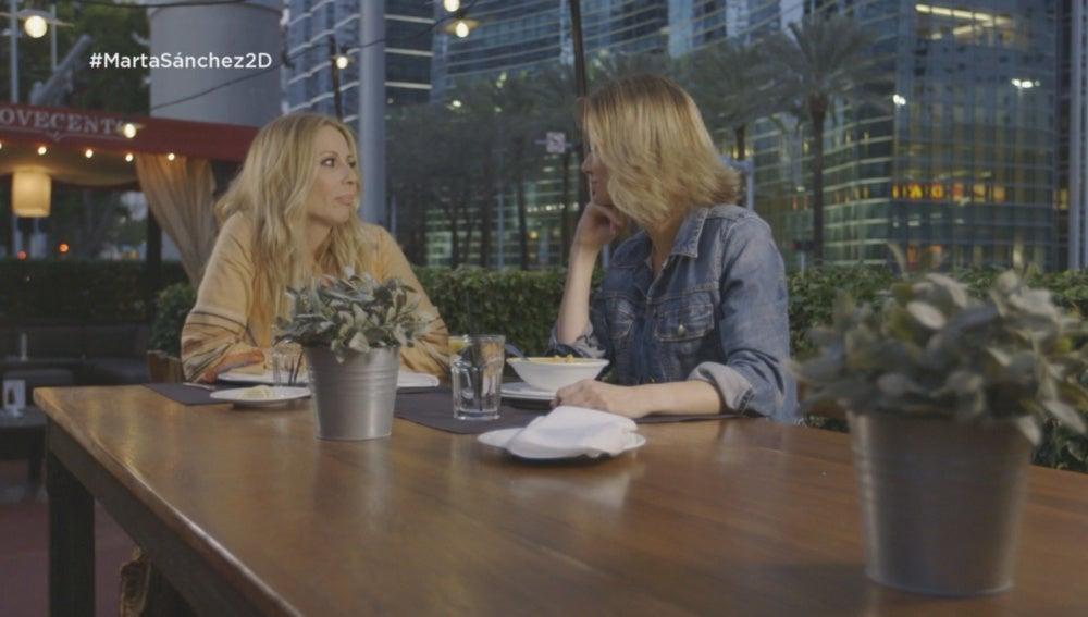 Marta Sánchez y Susanna Griso en Miami