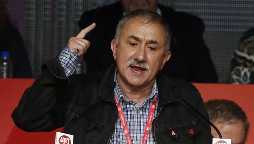 Josep María Álvarez, líder de UGT