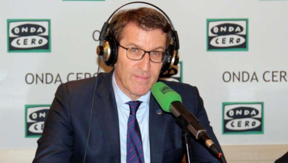Alberto Núñez Feijóo en Onda Cero