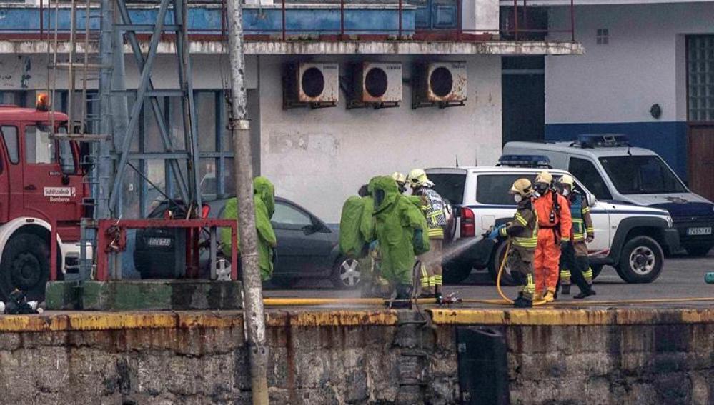Explosión en una fábrica de hielo en Vizcaya