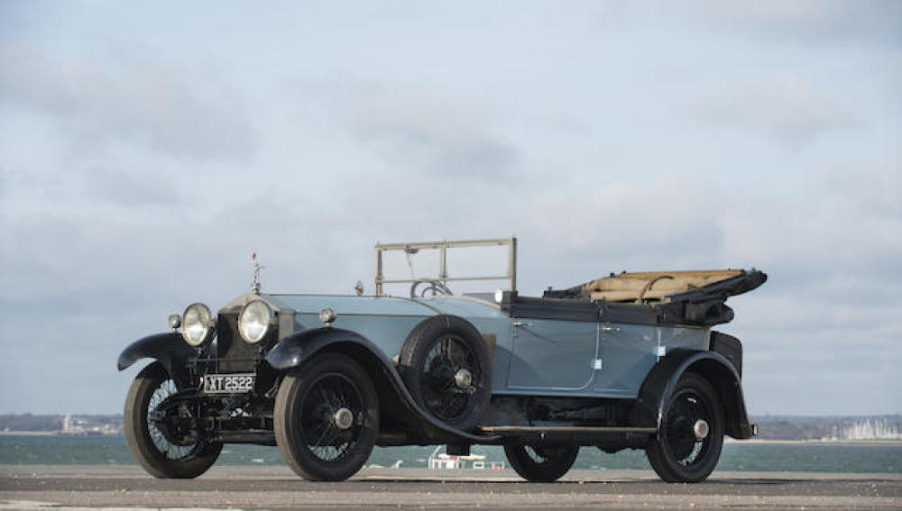 El Rolls-Royce Silver Ghost saldrá a subasta en marzo