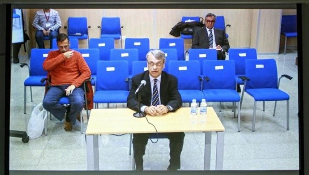 Miguel Tejeiro declarando en una imagen de archivo