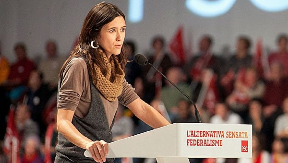 Nuria Parlón, secretaria del PSC.