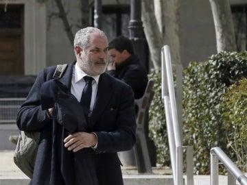 Andoni Zubizarreta acude a declarar a la Audiencia Nacional