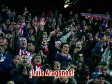 Frame 12.448121 de:  El Calderón invocó a Luis Aragonés antes de la tanda de penaltis