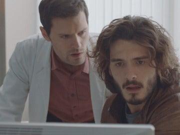 Alain y Víctor descubren una nueva pista