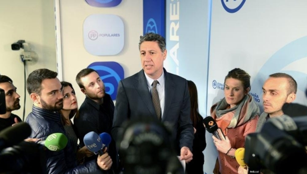 El coordinador general del PPC y presidente del grupo parlamentario, Xavier Garcia Albiol