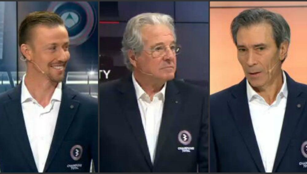 Guti, D'Alessandro y Lobo Carrasco