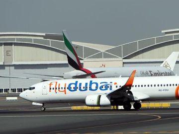 Avión de Flydubai