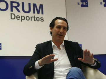 Unai Emery, técnico del Sevilla