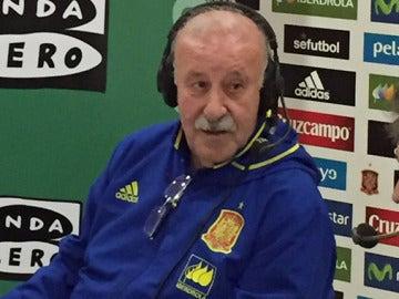 Vicente Del Bosque, en Al primer toque.