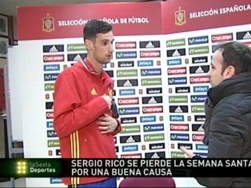 Sergio Rico se pierde su primera Semana Santa por la Selección.