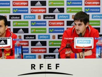 Pedro y San José en rueda de prensa