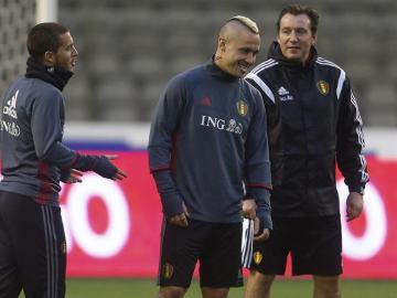 La selección belga anula el entrenamiento ras los atentados