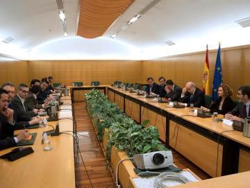 La reunión de la comisión del pacto antiyihadista