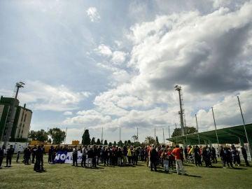 Manifestación tras las agresiones en el campo de El Palo
