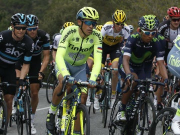 Alberto Contador, en la Volta a Catalunya