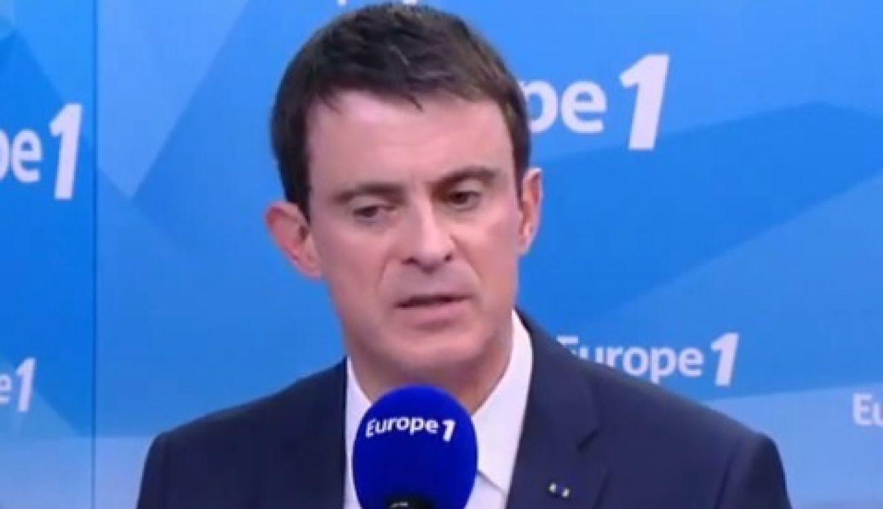 El ministro del Interior francés, Manuel Valls