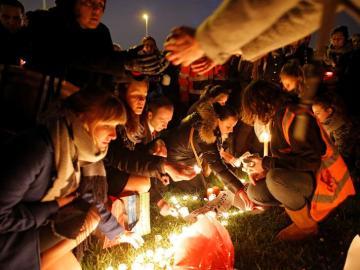 Concentración en Bruselas por las victimas del atentado