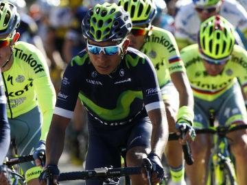 Nairo Quintana, en la Volta Catalunya