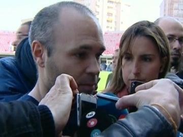 Andrés Iniesta, capitán del FC Barcelona
