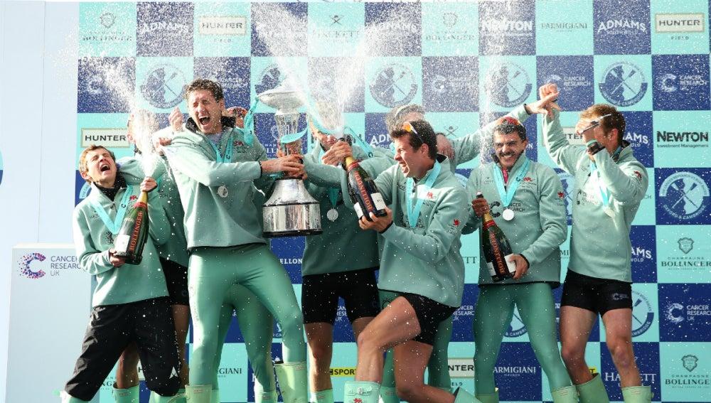 Cambridge celebra su triunfo
