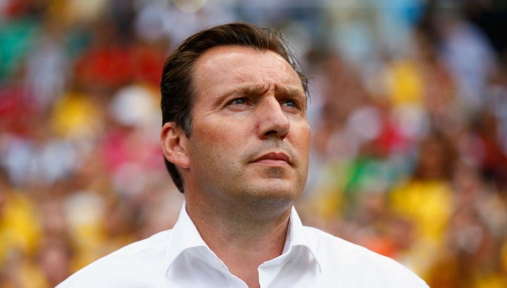 Marc Wilmots, seleccionador nacional belga