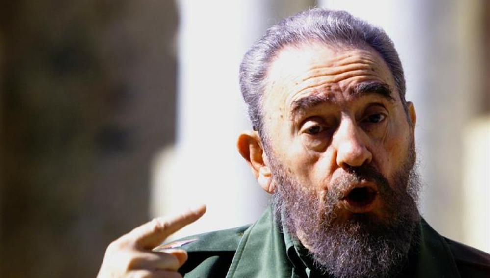 Imagen del líder de la revolución cubana, Fidel Castro.
