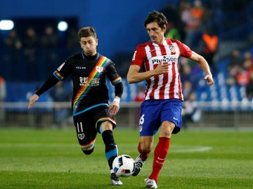Savic, durante un partido con el Atlético