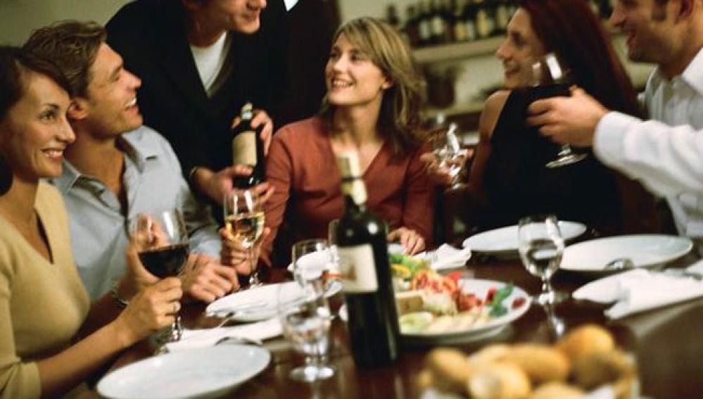 Cena con amigos