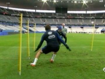 Selección de Francia vuelve a París