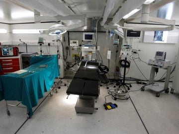 Imagen de archivo del quirófano de un hospital