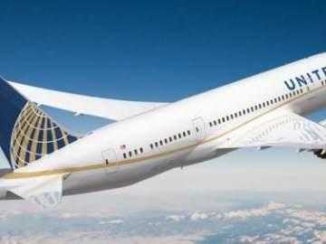 Avión de la compañía United Airlines