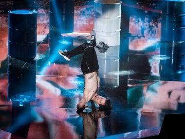 La coreografía de Adrián López