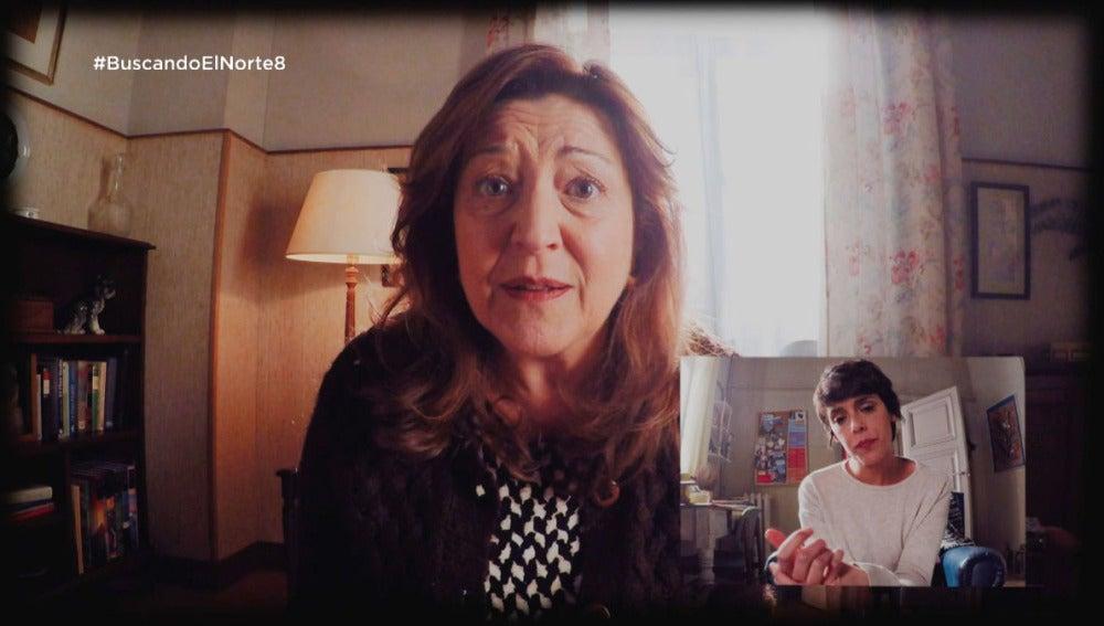 Carol habla con su madre