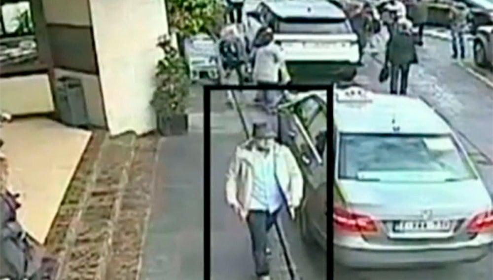 Imágenes difundidas por la fiscalía belga del tercer terrorista