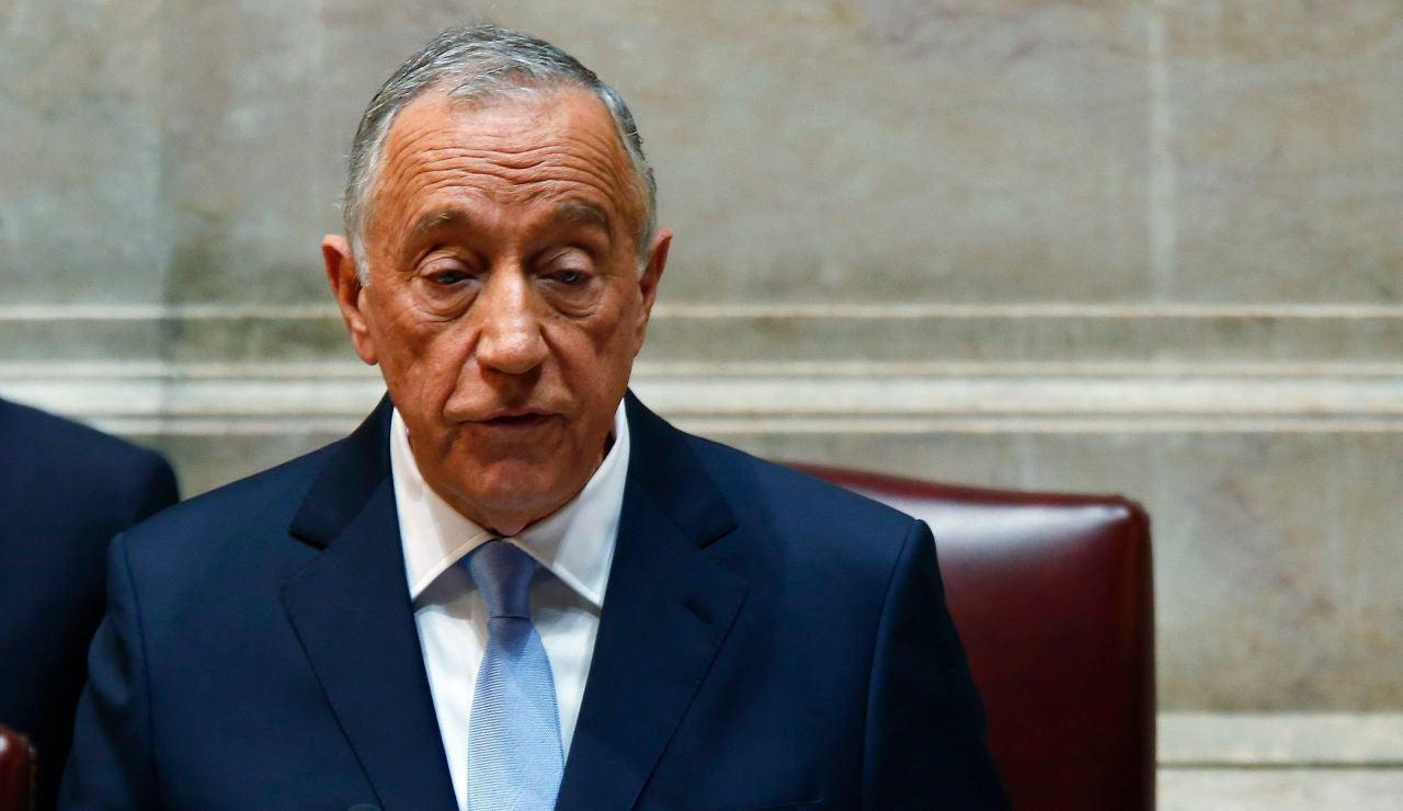 El presidente de Portugal, Marcelo Rebelo de Sousa.